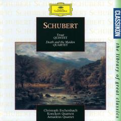 Schubert: Trout Quintet; Death and the Maiden Quartet - Christoph Eschenbach, Koeckert Quartet, Amadeus Quartet