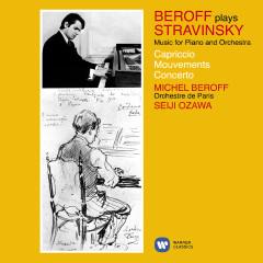 Stravinsky: Music for Piano and Orchestra (Capriccio, Movements & Concerto) - Michel Beroff, Seiji Ozawa