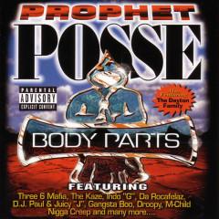 Body Parts - Three 6 Mafia, The Kaze, Indo