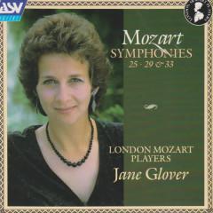 Mozart: Symphonies Nos. 25, 29 & 33 - London Mozart Players, Jane Glover