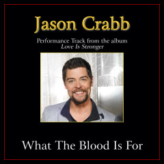 What The Blood Is For (Performance Tracks) - Jason Crabb