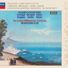 Mozart: Cosi fan tutte - Ryland Davies, Pilar Lorengar, Tom Krause, Gabriel Bacquier, Teresa Berganza