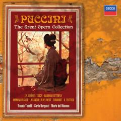 Puccini: The Great Operas - Renata Tebaldi, Mario Del Monaco