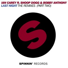 Last Night (feat. Snoop Dogg & Bobby Anthony) [The Remixes, Pt. 2] - Ian Carey, Bobby Anthony, Snoop Dogg