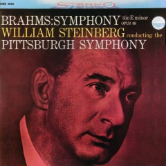 Brahms: Symphony No. 4 in E Minor, Op. 98 - Pittsburgh Symphony Orchestra, William Steinberg