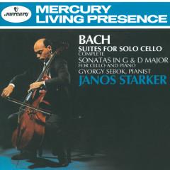 Bach, J.S.: Suites for Solo Cello/2 Cello Sonatas - Janos Starker, György Sebök