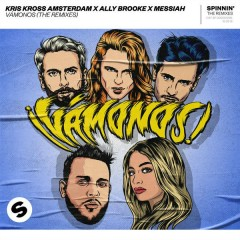Vámonos (The Remixes) - Kris Kross Amsterdam, Ally Brooke, Messiah