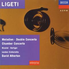 Ligeti: Melodien; Double Concerto; Chamber Concerto etc. - Aurèle Nicolet, Heinz Holliger, London Sinfonietta, David Atherton