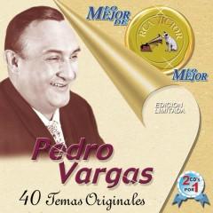 En Bellas Artes 50 Aniversario - Pedro Vargas