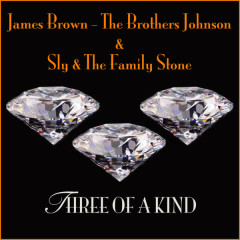 Three Of A Kind - James Brown, The Brothers Johnson, Sly & The Family Stone