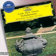 Dvorák / Bruch / Glazunov: Violin Concertos - Johanna Martzy, Erica Morini, RIAS Symphony Orchestra Berlin, Radio-Symphonie-Orchester Berlin, Ferenc Fricsay