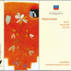 French Songs - Dame Janet Baker,The Melos Ensemble Of London,Bernard Keeffe