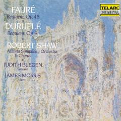 Fauré: Requiem, Op. 48 - Duruflé: Requiem, Op. 9 - Robert Shaw, Atlanta Symphony Orchestra, Atlanta Symphony Orchestra Chorus
