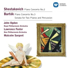 Shostakovich & Bartok:Piano Concertos/Sonata for 2 pianos & percussion