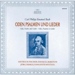 Bach, C.P.E.: Odes, Psalms & Lieder - Dietrich Fischer-Dieskau, Jorg Demus, Colin Tilney