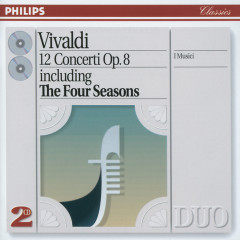Vivaldi: 12 Concerti Op.8 - I Musici, Felix Ayo, Maria Teresa Garatti
