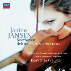 Beethoven & Britten: Violin Concertos - Janine Jansen, Die Deutsche Kammerphilharmonie Bremen, London Symphony Orchestra, Paavo Järvi