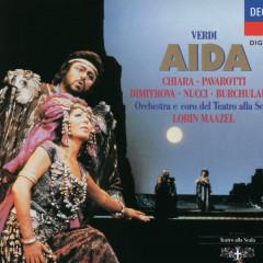 Verdi: Aïda - Maria Chiara, Luciano Pavarotti, Coro del Teatro alla Scala di Milano, Orchestra del Teatro alla Scala di Milano, Lorin Maazel
