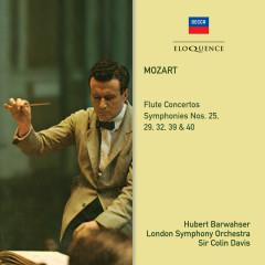 Mozart: Flute Concertos; Symphonies 39, 40, 25, 29, 32 - Hubert Barwahser, Colin Davis