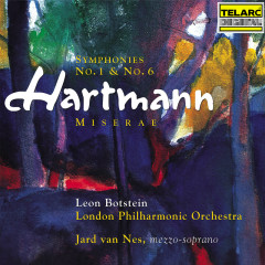 Hartmann: Symphonies Nos. 1 & 6 - Leon Botstein, London Philharmonic Orchestra, Jard van Nes