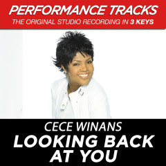 Looking Back At You (Performance Tracks) - CeCe Winans