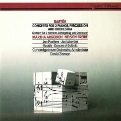 Bartók: Concerto For 2 Pianos, Percussion & Orchestra / Kodály: Dances Of Galánta - David Zinman, Martha Argerich, Nelson Freire, Royal Concertgebouw Orchestra