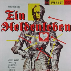 Richard Strauss: Ein Heldenleben (Transferred from the Original Everest Records Master Tapes) - London Symphony Orchestra, Leopold Ludwig