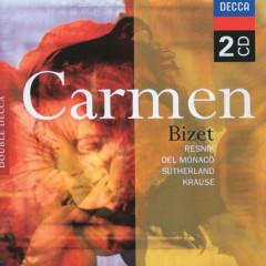 Bizet: Carmen - Regina Resnik, Mario Del Monaco, Dame Joan Sutherland, L'Orchestre de la Suisse Romande, Thomas Schippers