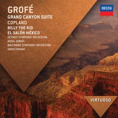 Grofé: Grand Canyon Suite; Copland: Billy The Kid; El Salón México - Detroit Symphony Orchestra, Antal Doráti, Baltimore Symphony Orchestra, David Zinman