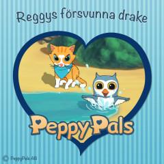 Reggys försvunna drake (Ljudbok) - Peppy Pals