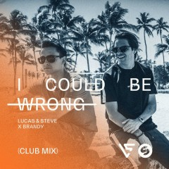 I Could Be Wrong (Club Radio Mix) - Lucas & Steve, Brandy