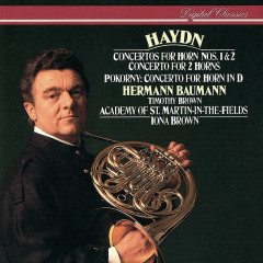 Haydn & Pokorny: Horn Concertos - Hermann Baumann, Academy of St. Martin in the Fields, Iona Brown