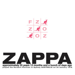 FZ:OZ (Live At Hordern Pavilion, Sydney/1976) - Frank Zappa