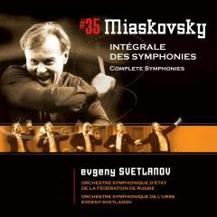 Miaskovsky : Complete Symphonies Nos 1 - 27 - Evgeny Svetlanov
