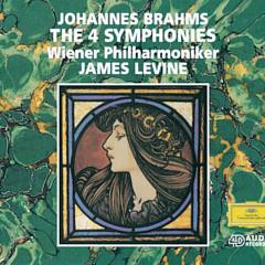Brahms: Symphonies Nos. 1-4; Alto-Rhapsody; Tragic Overture - Anne Sofie von Otter, Wiener Philharmoniker, Arnold Schoenberg Chor, James Levine