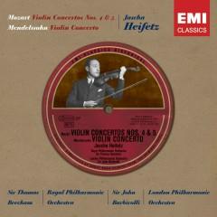 Historical Series - Mozart: Violin Concertos Nos. 4 & 5 - Jascha Heifetz