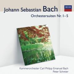 J.S. Bach: Orchestersuiten - Kammerorchester Carl Philipp Emanuel Bach, Peter Schreier