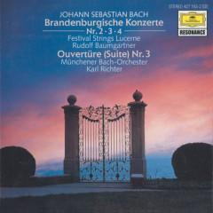 Bach, J.S.: Brandenburg Concertos Nos.2, 3 & 4; Orchestral Suite No.3, BWV 1068 - Festival Strings Lucerne, Rudolf Baumgartner, Münchener Bach-Orchester, Karl Richter