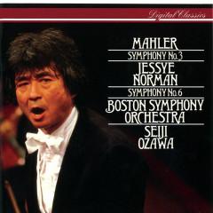 Mahler: Symphonies Nos 3 & 6 - Jessye Norman, American Boy Choir, Tanglewood Festival Chorus, Boston Symphony Orchestra, Seiji Ozawa