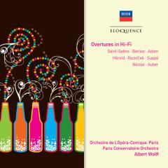 Overtures In Hi-Fi - Orchestra Of The Opera Comique Paris, Paris Conservatoire Orchestra, Albert Wolff