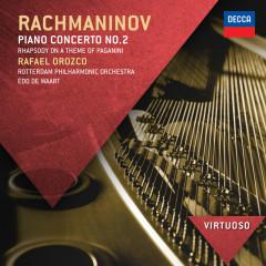 Rachmaninov: Piano Concerto No.2; Rhapsody on a theme of Paganini - Rafael Orozco, Rotterdam Philharmonic Orchestra, Edo de Waart