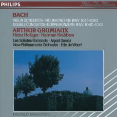 Bach, J.S.: Violin Concertos; Double Concertos - Arthur Grumiaux, Herman Krebbers, Heinz Holliger, Les Solistes Romands, Arpad Gérecz