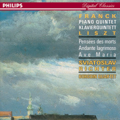 Franck/Liszt: Piano Quintet/Harmonies Poétiques et Religieuses/Ave Maria etc. - Sviatoslav Richter, Borodin Quartet