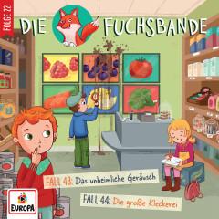 022/Fall 43: Das unheimliche Geräusch/Fall 44: Die große Kleckerei - Die Fuchsbande