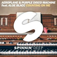 Counting On Me (feat. Aloe Blacc) - Aeroplane, Purple Disco Machine, Aloe Blacc