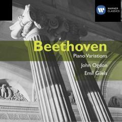 Beethoven: Piano Variations - John Ogdon, Emil Gilels