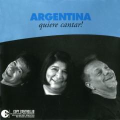 Argentina Quiere Cantar - Léon Gieco, Victor Heredia, Mercedes Sosa