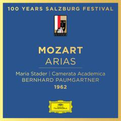 Mozart: Arias - Maria Stader, Camerata Academica des Mozarteums Salzburg, Bernhard Paumgartner