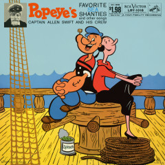 Popeye's Favorite Sea Shanties and Other Songs