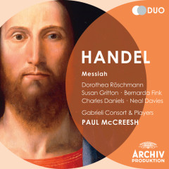 Handel: Messiah - Dorothea Röschmann, Susan Gritton, Bernarda Fink, Charles Daniels, Neal Davies